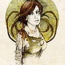 Asha Greyjoy by elia, illustration