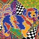 POP ART DOG - Doggie portrait with a difference! by Lisa Frances Judd ~ Original Australian Art