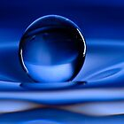 Floating Water Drop by Anthony L Sacco