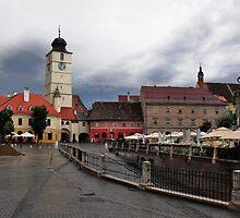 Stormy Afternoon Sibiu Transylvania by ivDAnu
