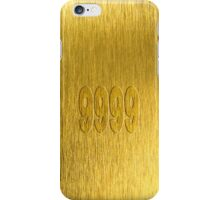 Gold 9999 iPhone Case/Skin