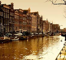 Amsterdam the last days in Autumn by THHoang