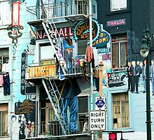 Street Art in San Francisco II by Igor Shrayer