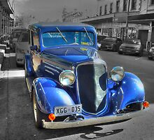 Blue Car by PollyBrown