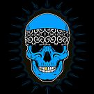 Bandanna Skull by Tom  Ledin