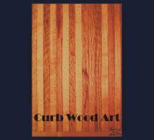Official Curb Wood Art T shirt Kids Clothes