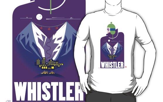"""Full Moon"" Whistler Village Shirt by James Tuer"