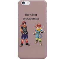 The Silent Protagonists iPhone Case/Skin