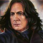 Snape: Sectumsempra detail by Cynthia Blair