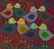 Chatter Birds by Cherie Balowski