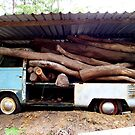 Kombi Ute Wood Collector by Bami