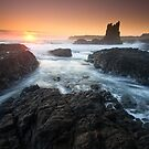 &quot;Cathedral Sunrise&quot;  Kiama, NSW - Australia by Jason Asher
