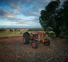 Little Old Tractor by Peter Hodgson