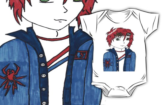 gerard way anime by chr15w00d