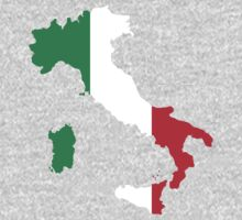 Italy Flag and Map Kids Clothes