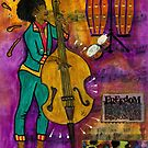 That Sistah on the Bass by  Angela L Walker