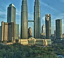 Petronas Towers by Asif Patel