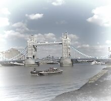 Tower Bridge London by Audrey Clarke