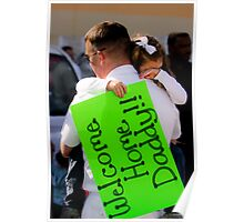 Welcome Home Daddy! Poster