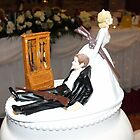 D & K's   Wedding Cake by epgaskell