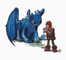 How To Train Your Dragon 'Toothless'  By EmegE  by Geckoface