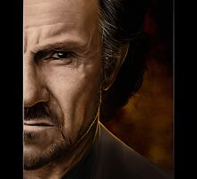 Harvey Keitel by Sheridan Johns