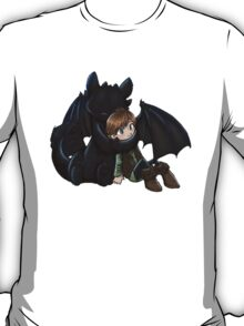 How To Train Your Dragon Manga Design T-Shirt