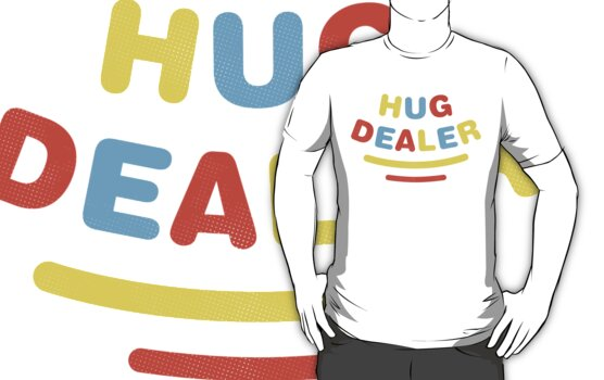 Hug Dealer by Jonah Block