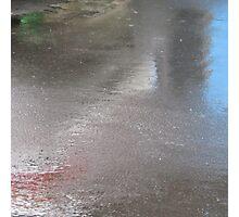 Rainy Day Asphalt  Photographic Print