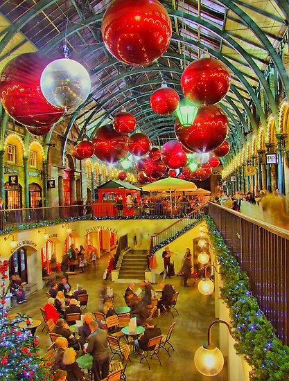 Christmas Covent Garden 2011 - HDR by Colin J Williams Photography