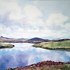 """Still Waters"" North Uist Scotland by Joyce Grubb"