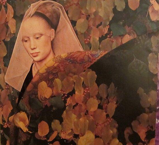 Portrait of Autumn by Kanchan Mahon