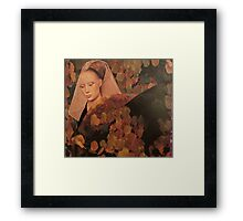 Portrait of Autumn Framed Print