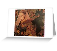 Portrait of Autumn Greeting Card