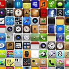 iPhone Cover  Many Icons by Ommik