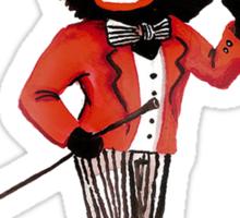 Golliwog with Hat Sticker