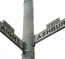 Haight Ashbury intersection by Rob Chiarolli