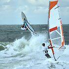 Extreme windsurfing by Sandy Maya Matzen