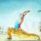 Butterfly, yoga in Barcelona by Wari Om  Yoga Photography