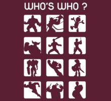 Who's who ? (normal difficulty) T-Shirt