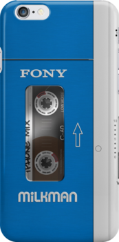 Cassette Player (Vintage Sony Walkman) by Alisdair Binning