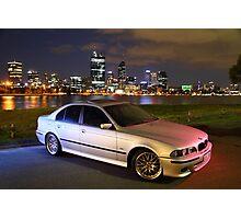 M5 BMW 540i Photographic Print