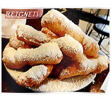 "Beignet ""Fingers"" Poster"