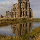 Whitby abbey by Dave Tucker