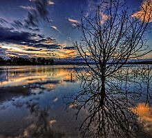 Reflections of twilight by GeoffSporne