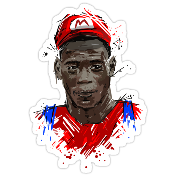 Super Mario Balotelli by DLIllustration