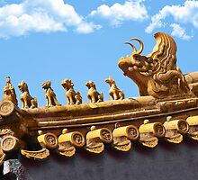 ❀◕‿◕❀    ❁◕‿◕❁ Carved Staues On Top Of Roof In China ❀◕‿◕❀    ❁◕‿◕❁ by ╰⊰✿ℒᵒᶹᵉ Bonita✿⊱╮ Lalonde✿⊱╮
