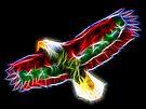 Medicine Wheel Totem Animals by Liane Pinel- Thunderbird by Liane Pinel