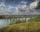 Trainbridge HDR by jphphotography