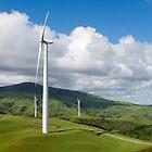 wind turbine by Anne Scantlebury